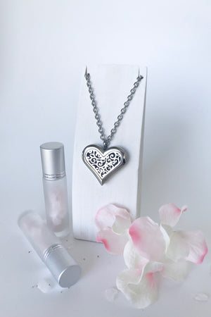 'ENCHANTED' essential oil diffusing necklace
