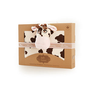 'CONNIE the COW' Lush Lovie Blanket