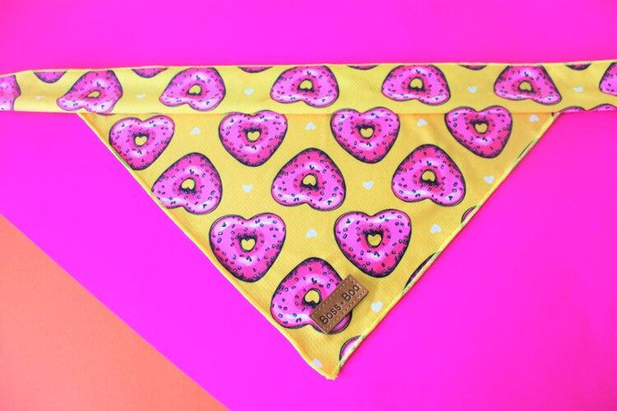 Sweet Hearts - Dog Bandana