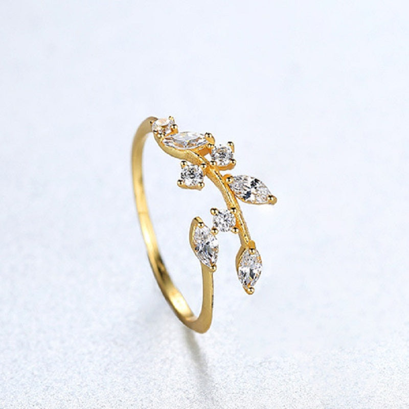 Creative Tree Vine Adjustable Ring