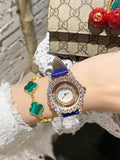 Hollow Transparent Leather Women's Watch