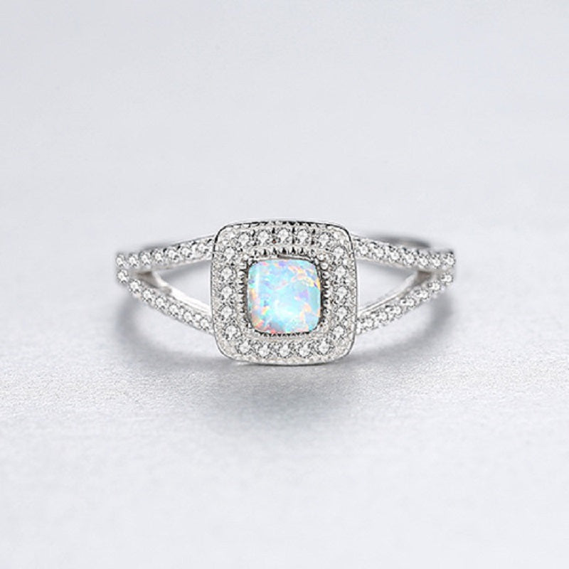 Square Hollow Women's Ring