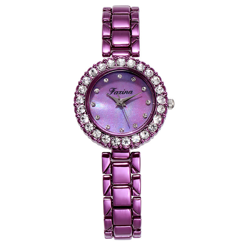 Diamond Watch Frame Women's Watch