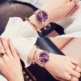 Simple&Stylish Stainless Steel Strap Women's Watch