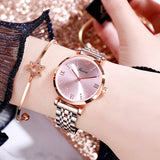 Simple Ultra-thin Strap Quartz Women's Watch