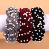 Wide-brimmed Knotted Candy Color Headband