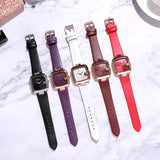 Square Dial Casual Women's Watch