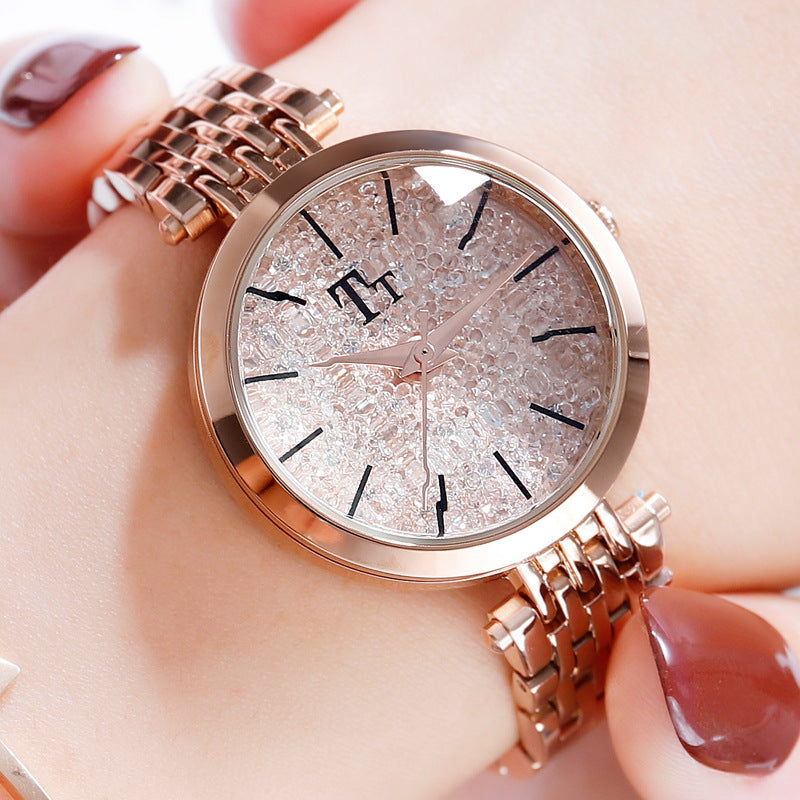 Personality Diamond Dial Leisure Women's Watch