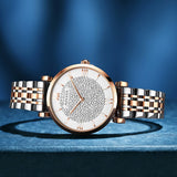 Full of Rhinestone Dial Women's Watch