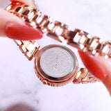 Diamond Frame 5 Pcs Set  Women's Watch