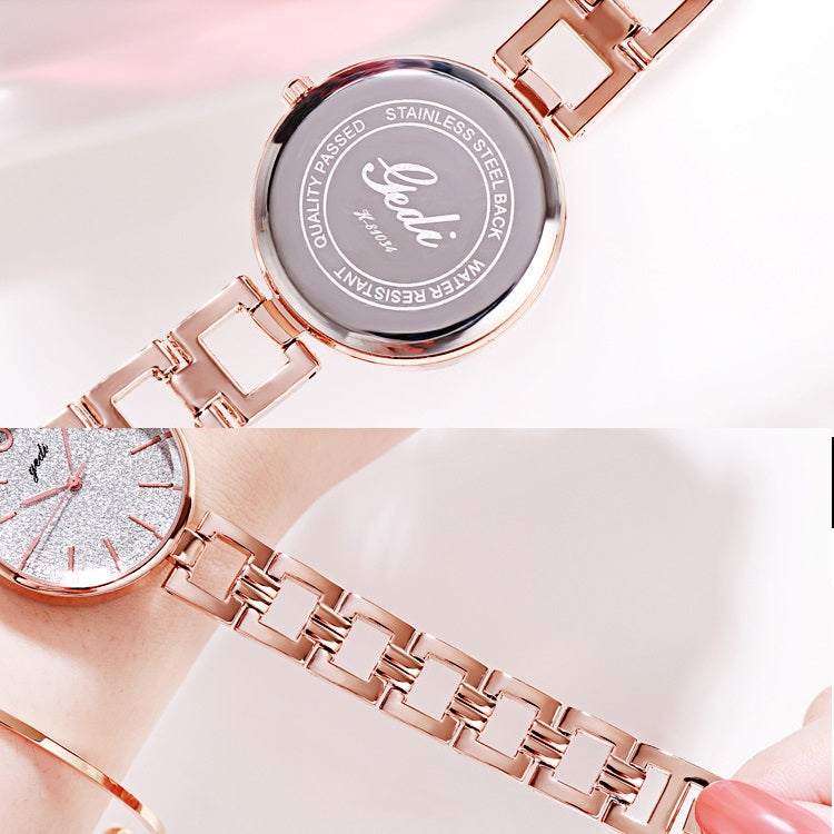 Starry Sky Ultra-thin Strap Women's Watch