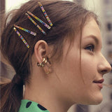 Colorful Diamond 3pcs Set Hair Clip