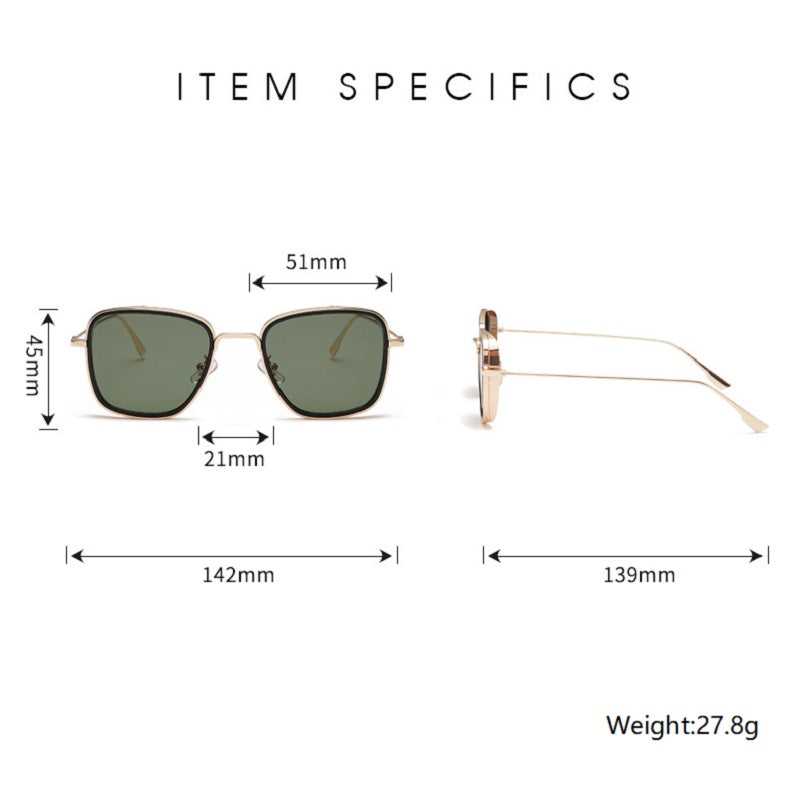Fashion Large Frame Sunglasses
