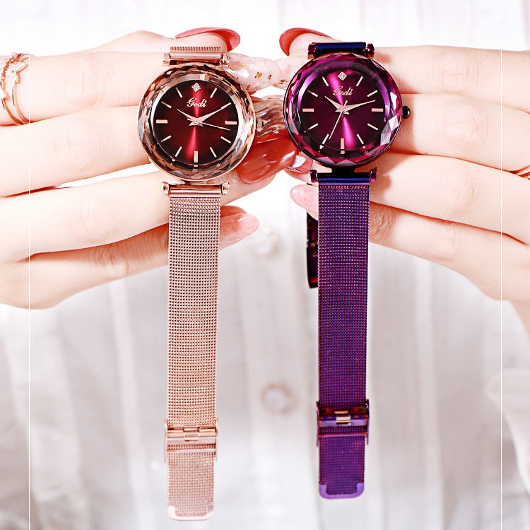 Fashion Mesh Strap Women's Watch