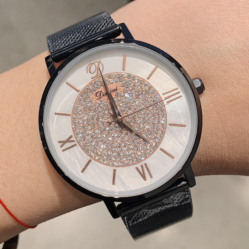 Casual Ultra-thin Mesh Strap Women's Watch