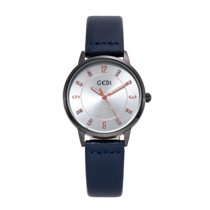 Round Dial Casual Women's Watch