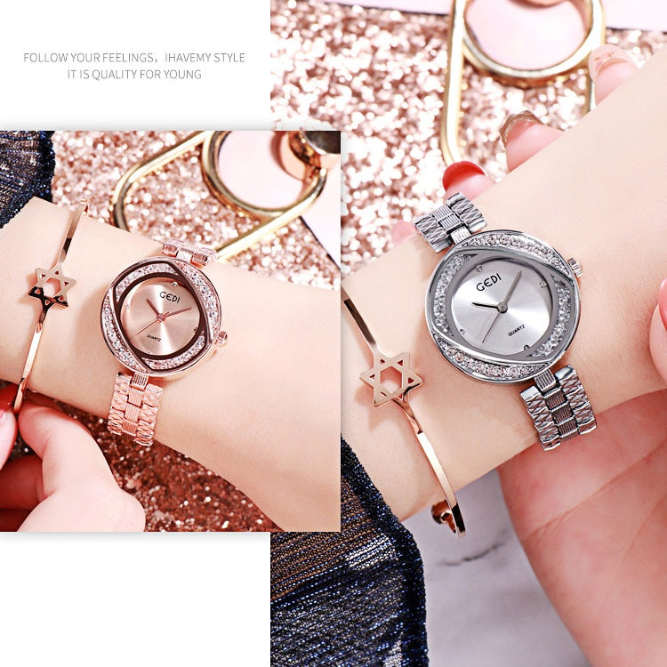 Full Of Diamond Dial Bracelet Women's Watch