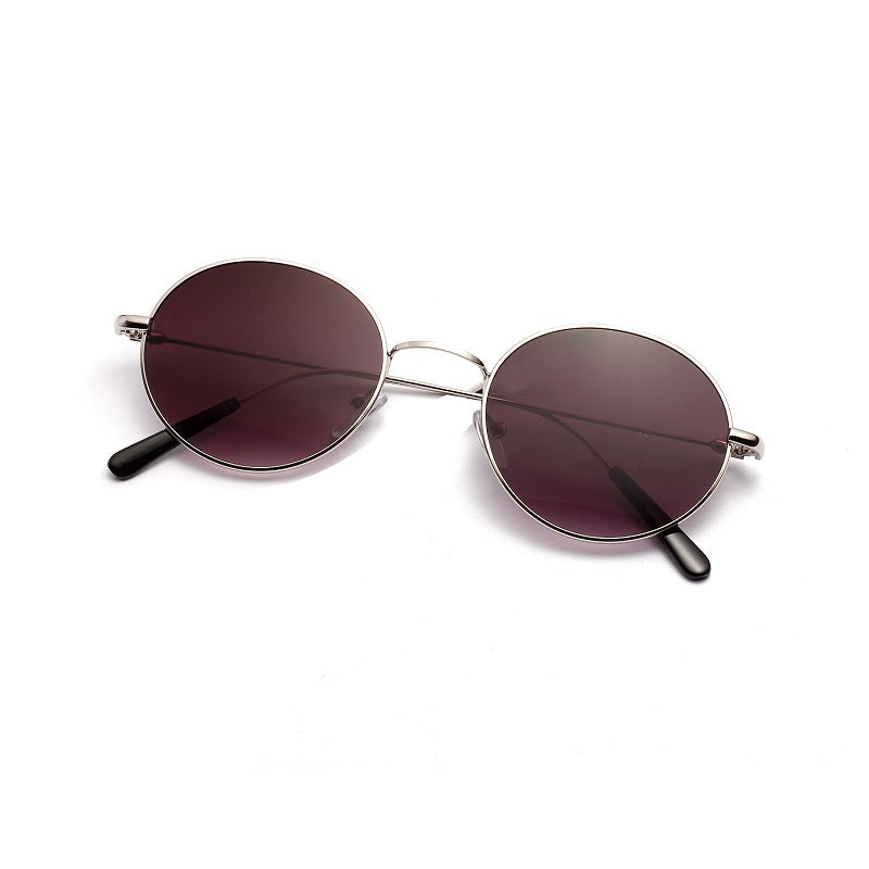 Retro Round Rimless Women's Sunglasses