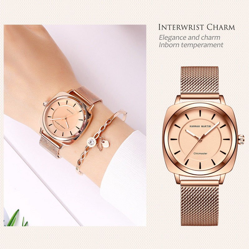 Square Frame Women's Watch