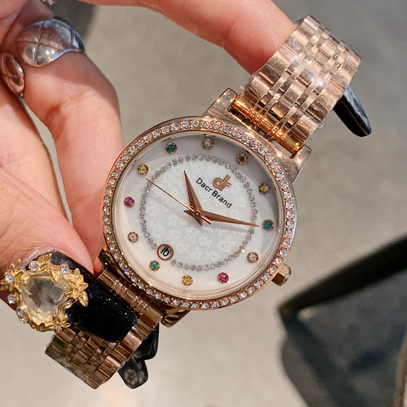 Colorful Diamond Scale Women's Watch