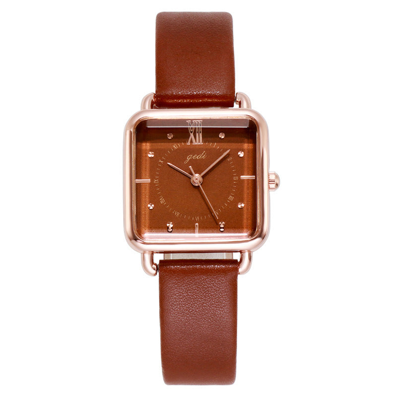 Leisure Square Dial Women's Watch