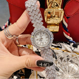 Women's Watch Luxurious Zircon full diamond Bracelet elegant watch