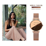 Fashion Gradient Dial Women's Watch