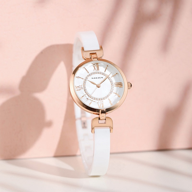 Fashion Ceramic Strap Women's Watch