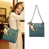 Lattice Pattern Chain Bag