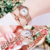 Small Dial Ultra-shin Strap Women's Watch