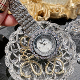 Fashion Inlaid Quicksand Dial Women's Watch