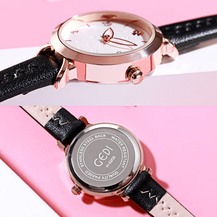 Four-leaf Clover Small Dial Women's Watch