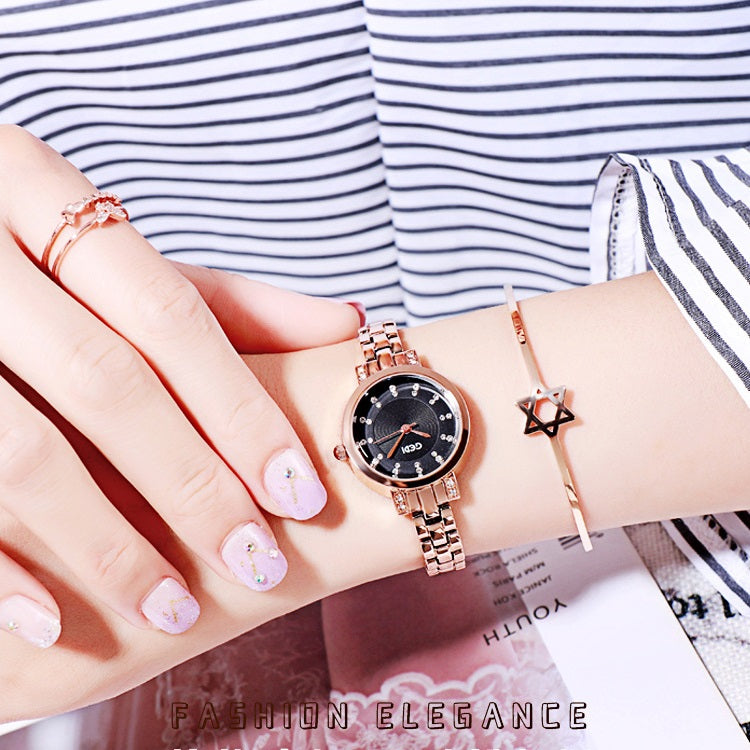 Casual Diamond Scale Women's Watch