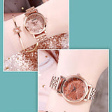Starry Dial With Scale Women's Watch