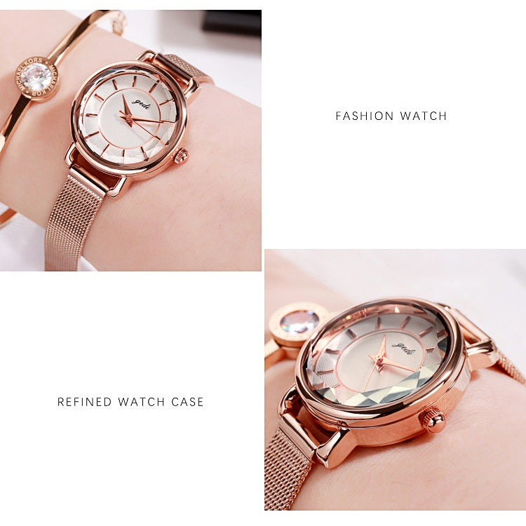 Simple Scale Quartz Women's Watch