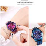 Simple Quartz Women's Wristwatch