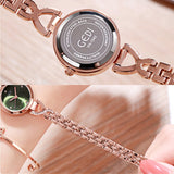 Ultra-thin Strap Bracelet Women's Watch