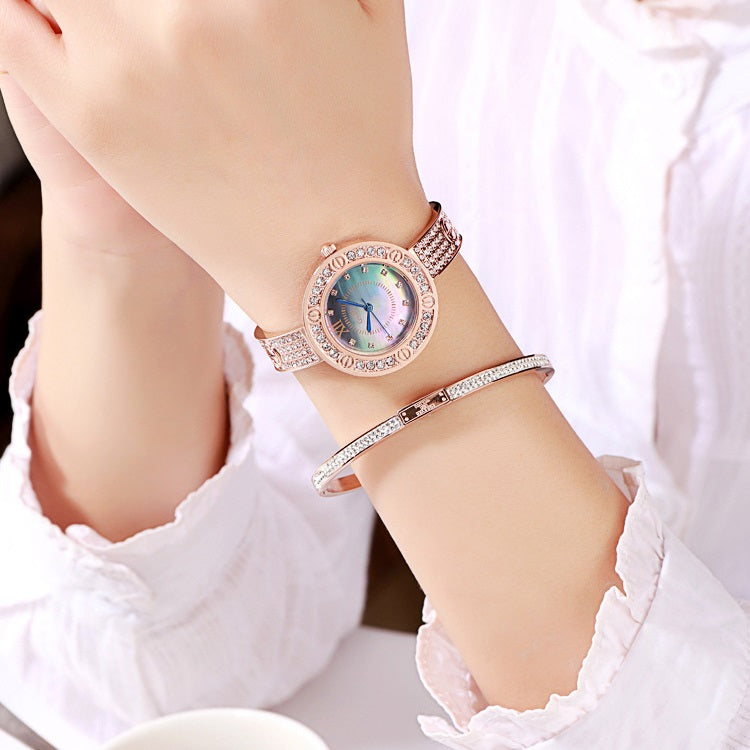 Stainless Steel Strap Bracelet Women's Watch