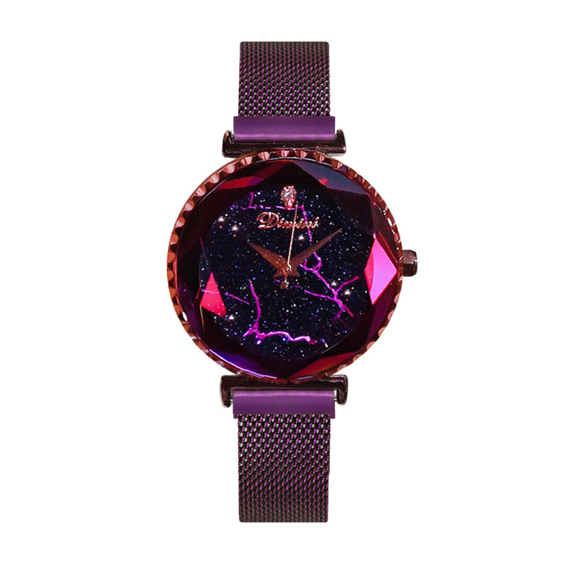 Fashion Star Watch steel belt waterproof Lady Watch