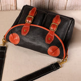 Retro Large Capacity Shoulder Bag