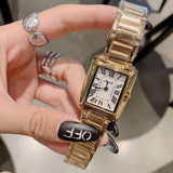 Vintage Square With Roman Scale Women's Watch