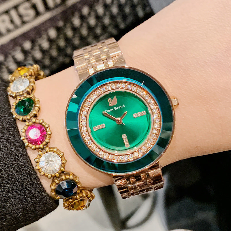 Personality Rhinestone-studded Women's Watch