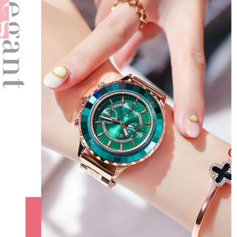 Personality Large Dial Women's Wristwatch