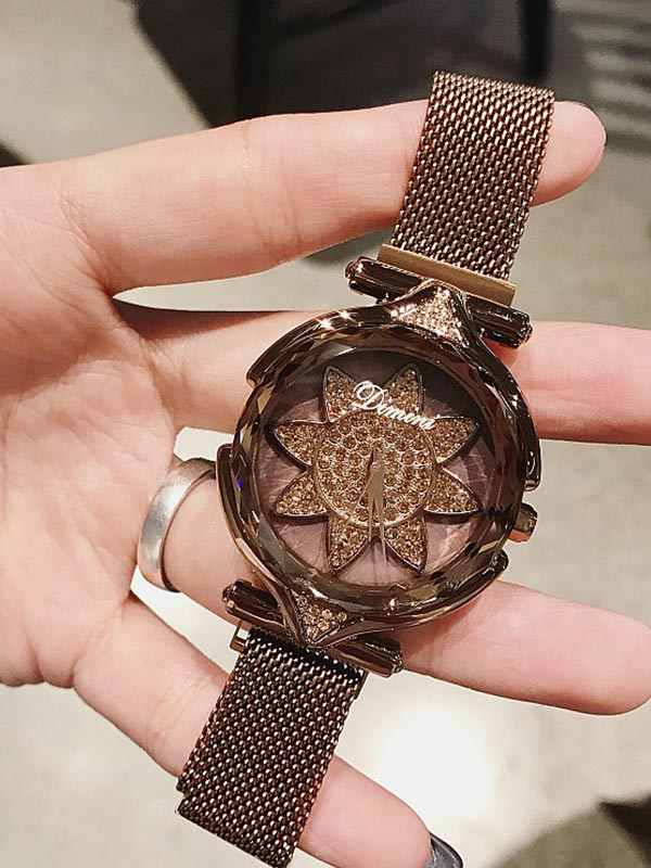Sunflower Pattern Women's watch