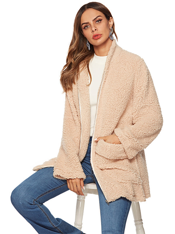 Thickened Plush Coat