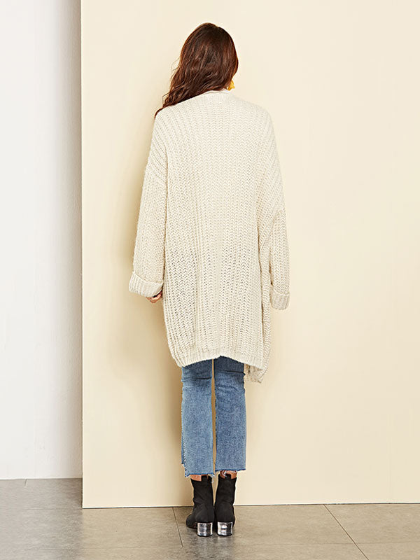 Long Monochrome Sweater
