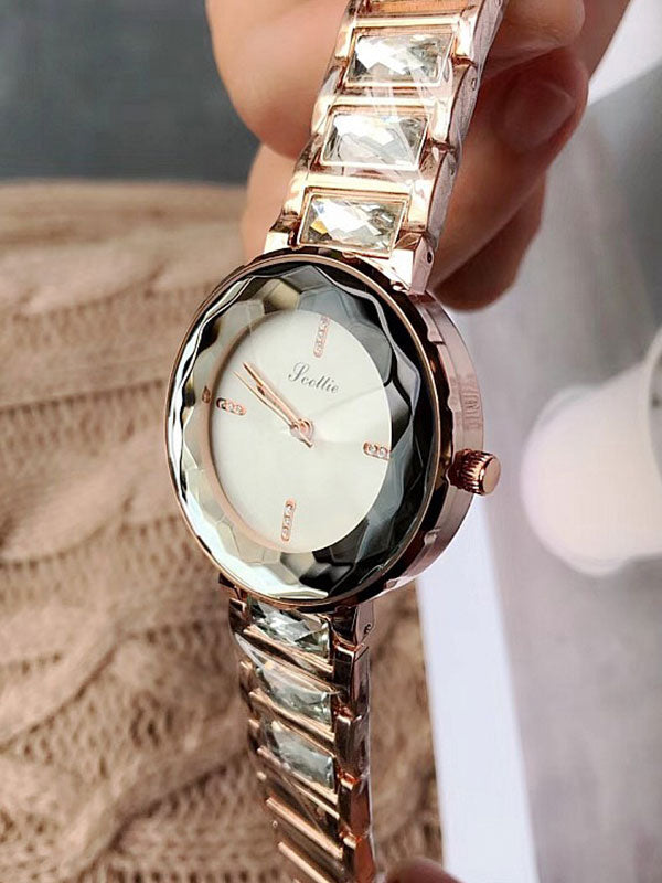 Crystal Diamond Women's Watch