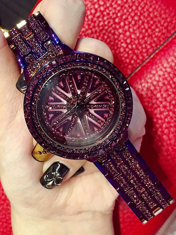 Luxury Diamond Women's Watch