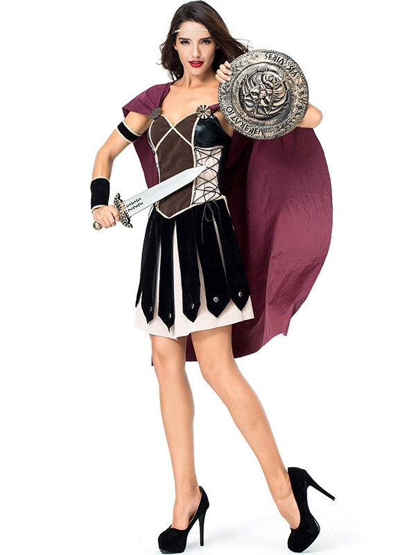 Spartan Female Warrior Costume