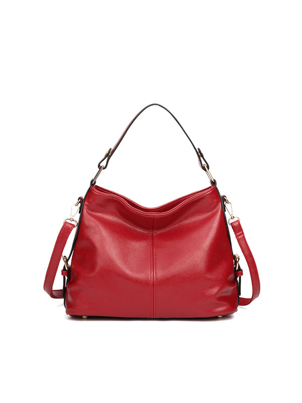 Fashion Litchi Pattern Handbag
